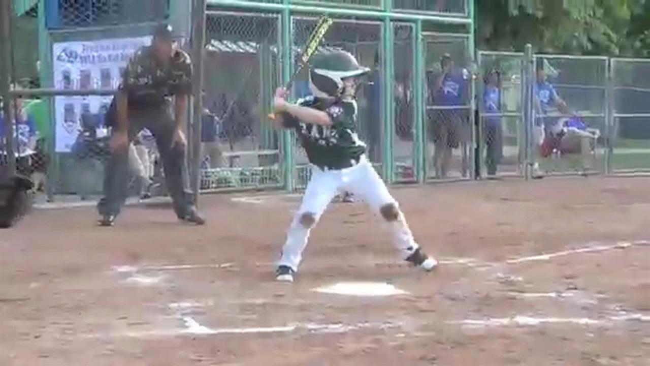 Six year old stud nails five homers nbc sports for Classic house hits