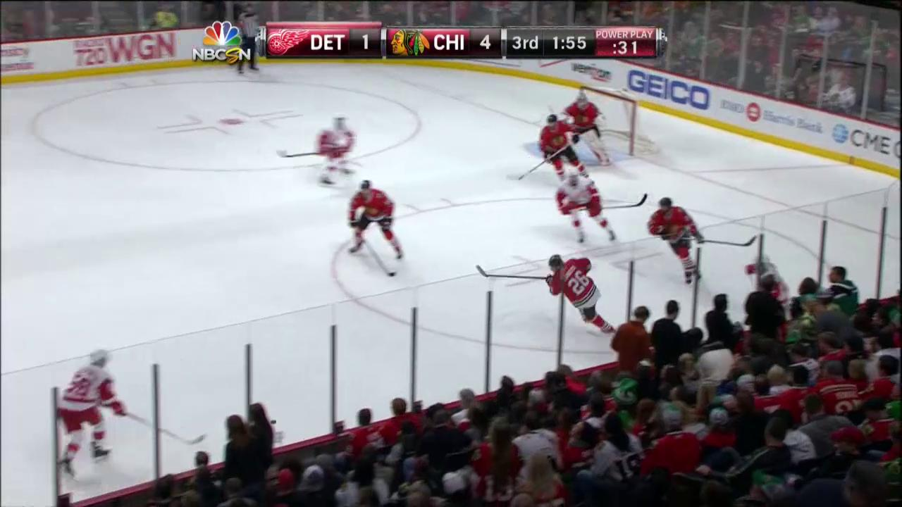 Toews Scores Shorthanded Goal To Clinch Victory Nbc Sports